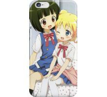 Kiniro Mosaic - Shinobu & Alice iPhone Case/Skin
