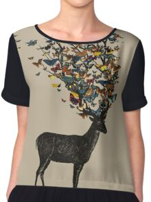 Wild Nature Chiffon Top