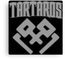 Tartaros (Grey) Canvas Print