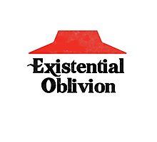 Existential Oblivion T-Shirt Photographic Print