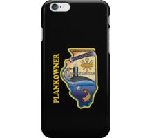 SSN-786 USS Illinois Plank Owner Crest for Dark Colors iPhone Case/Skin