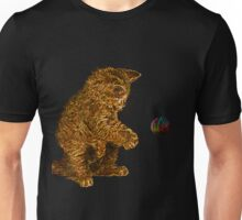 gold kitty cat Unisex T-Shirt