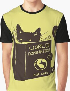 World Domination For Cats Graphic T-Shirt