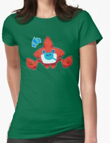 Gentle on the goods, OK? Womens Fitted T-Shirt