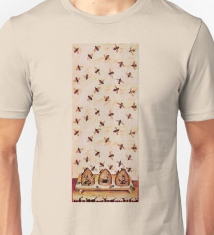 HONEY BEES AND BEE HIVES ,BEEKEEPER Unisex T-Shirt