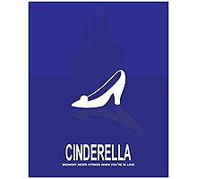 Fairytale Movie Poster - Blue Photographic Print