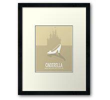 Fairytale Movie Poster - Beige Framed Print