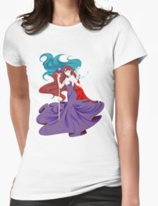 Beryl~Mirror Womens Fitted T-Shirt