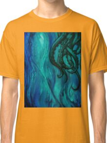 Cthulhu Dreaming in Blue Classic T-Shirt