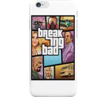 Grand theft auto breaking bad walter white jesse pinkman iPhone Case/Skin