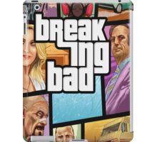 Grand theft auto breaking bad walter white jesse pinkman iPad Case/Skin
