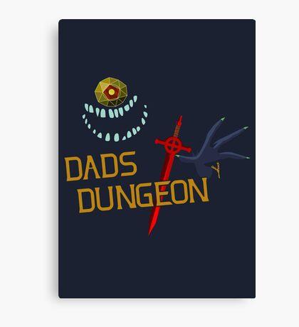 Dad's Dungeon Canvas Print