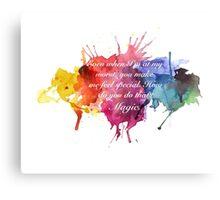 Magic - Tara and Willow Canvas Print