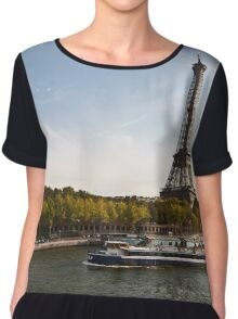 Trip in Paris Chiffon Top