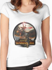 Total War: Warhammer Patch Women's Fitted Scoop T-Shirt