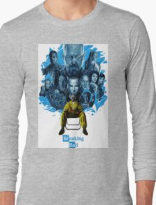 breaking bad walter white Long Sleeve T-Shirt
