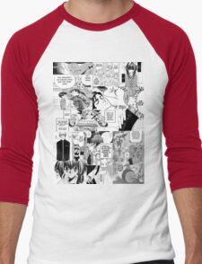 My Manga-reading Journey Men's Baseball ¾ T-Shirt