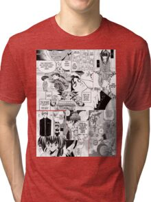 My Manga-reading Journey Tri-blend T-Shirt