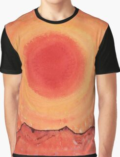 Turn West at the Sun original painting Graphic T-Shirt