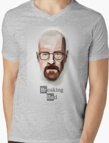 Breaking bad walter white Mens V-Neck T-Shirt