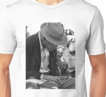 Old Man Plugged In Unisex T-Shirt