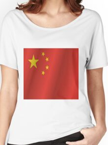 China flag Women's Relaxed Fit T-Shirt
