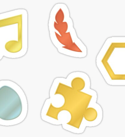 Banjo-Kazooie Collectibles Sticker