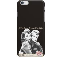 Retro Wartime Pinup We've Come A Long Way Baby! iPhone Case/Skin