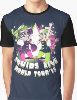 squids live world tour!  Graphic T-Shirt