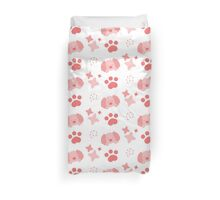 Potato Puppy, Playful Pattern Duvet Cover