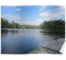 Lake Ridge Reflecting by Respite Artwork Poster
