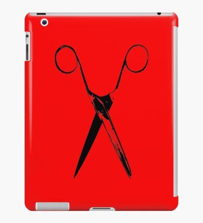 Scissors - black iPad Case/Skin