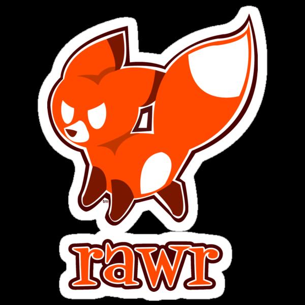 Rawr by flashfox