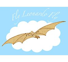 Fly Leonardo Fly Photographic Print
