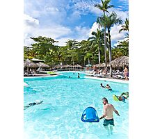 Pool Party Photographic Print