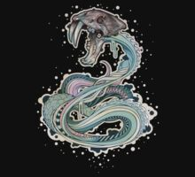 Saber-toothed Serpent in Space Baby Tee