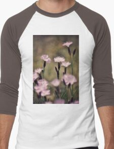Purple blossoms Men's Baseball ¾ T-Shirt