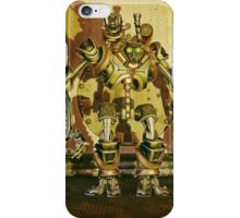 Steampunk Robot - The Nemesis iPhone Case/Skin
