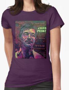 John Prine Womens Fitted T-Shirt