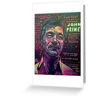 John Prine Greeting Card