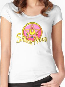 -Sailor Moon- Women's Fitted Scoop T-Shirt