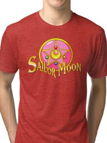 -Sailor Moon- Tri-blend T-Shirt