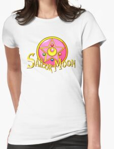 -Sailor Moon- Womens Fitted T-Shirt