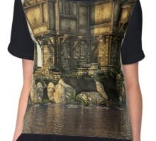 The Medieval House on The Sea Chiffon Top