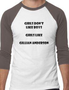 Girls like Gillian Men's Baseball ¾ T-Shirt