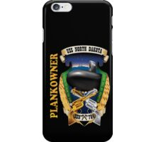 SSN-784 USS ND Plank Owner Crest for Dark Colors iPhone Case/Skin