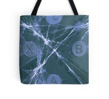 XBox Controller Teal Tote Bag