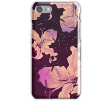 golden lilies iPhone Case/Skin