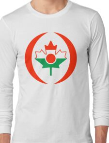 Niger Canadian Multinational Patriot Flag Series Long Sleeve T-Shirt
