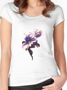 Super Paper Mario - Dimentio Women's Fitted Scoop T-Shirt